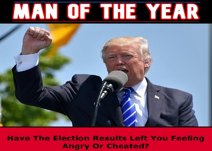 Have The Election Results Left You Feeling Angry or Cheated?