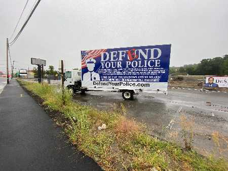 Defend Your Police Sign Sightings